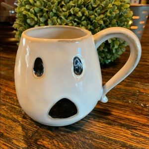 Pottery Barn Ghost Halloween Mug Coffee Cute 🖤